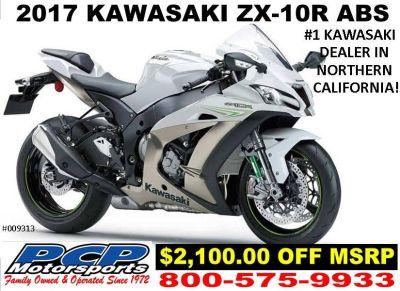 2017 Kawasaki NINJA ZX-10R ABS SuperSport Motorcycles Sacramento, CA