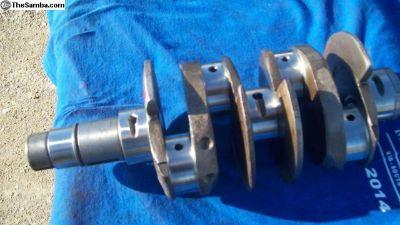 Crankshaft DPR 69 Counter Weighted
