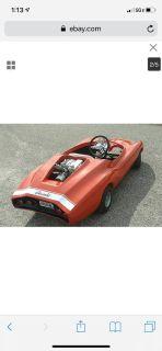 """Vintage 1960's Rupp """" Monza Jr """" Go Kart Body - Rare Find"""