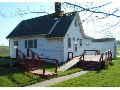 2 Bed 1 Bath Foreclosure Property in Manchester, MI 48158 - Bethel Church Rd