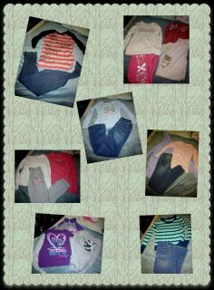 Size 10-12 Girl's Fall/Winter Clothing Lot (38 items)