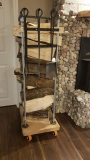 Fire place wood holder $320