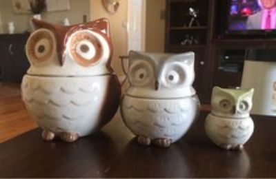 Nesting Owl Measuring Cups