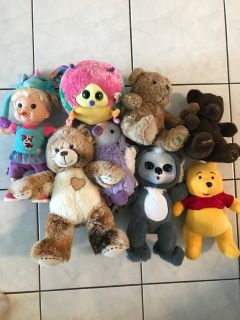 Assorted Dolls & Stuffed Animals - Thickson & Rossland, Whitby