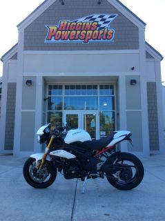 2013 Triumph Speed Triple R Street / Supermoto Motorcycles Barre, MA