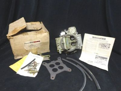 Buy HOLLEY 4160 4 BBL 600CFM Adjust Float *(NOS)* Motorcraft 8408/8409 * IN BOX FORD motorcycle in Baltimore, Maryland, United States, for US $249.50