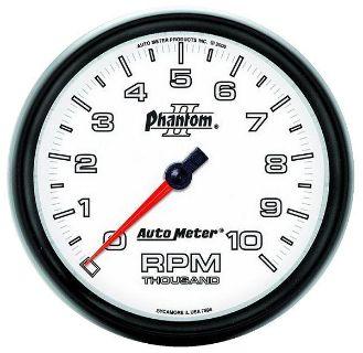 "Sell Auto Meter 7598 Phantom II 5"" In-Dash Tachometer Gauge 10,000 RPM motorcycle in Greenville, Wisconsin, US, for US $219.28"