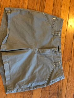 Lee straight fit gray shorts size 12