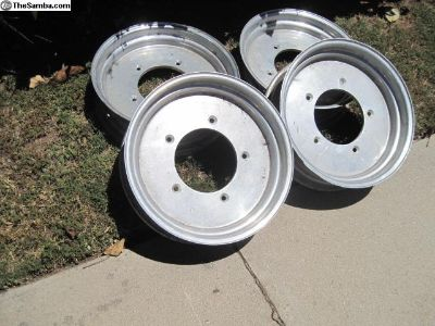 Deano DDS 15x5 spun aluminum wheels set of 4