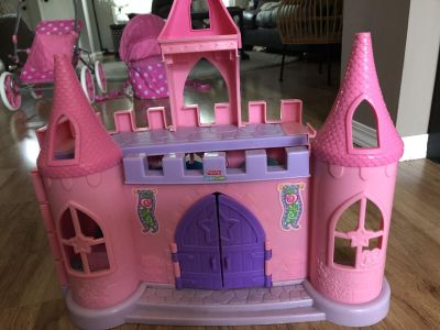 Little people princess castle . See second pic for inside
