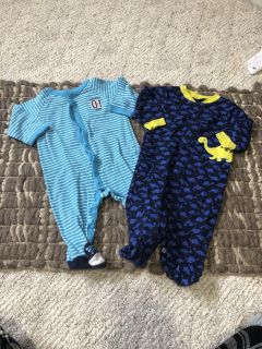 6 month jammies