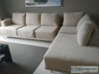 Sectional couch for sale -- must sell