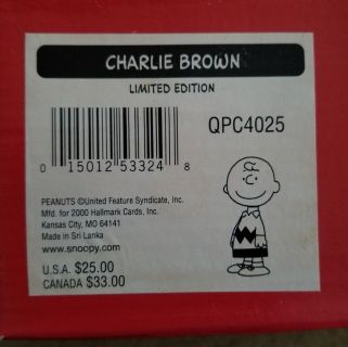 Charlie Brown Collectibles with Certificates