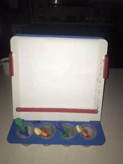 GUC WOODEN ART PAINTING/EASEL SET