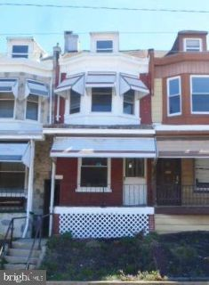 523 Linden St READING, Nice Row in Northeast , Four BR/One BA.