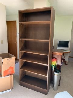 Tall bookshelf - prices as is OBO
