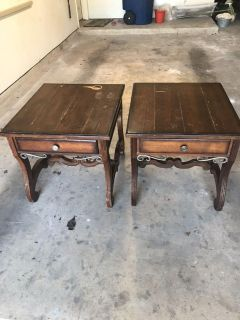 Project side tables