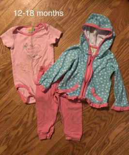 3 piece outfit - 12-18 months