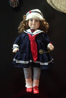 Brinns limited collectors edition porcelain DOLL 1995