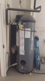 100 gallon commercial gas water heater