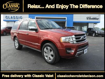 2016 Ford Expedition Platinum (Red)