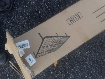 Very sturdy brand new still in box full size bed frame