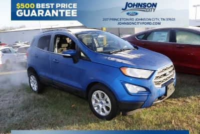 2018 Ford EcoSport SE (Lightning Blue Metallic)