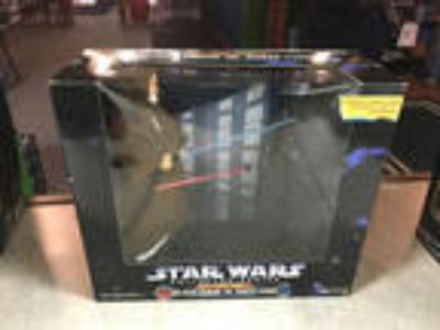 "Star Wars 12"" Obi-Wan Kenobi VS Darth Vader Electronic Power"