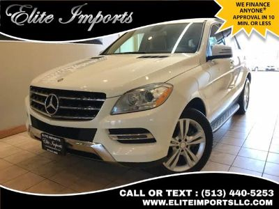 2013 Mercedes-Benz M-Class ML350 4MATIC (White)