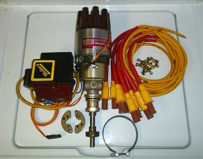 Mallory Super Mag 2 351C & BBF + Accel solid core wires