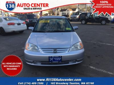 2001 Honda Civic EX (Satin Silver Metallic)