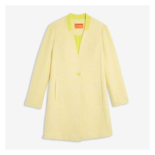 LOOKING FOR size M - Joe Fresh yellow/lemon boucle coat