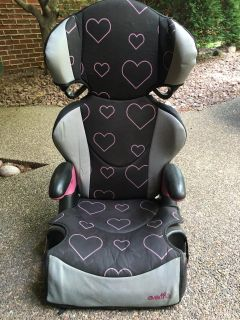 High Back Booster Seat, detaches to just a booster seat