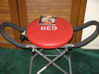 """Red"" Exercise Seat"
