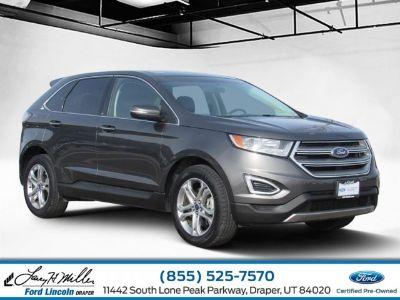 2016 Ford Edge Titanium (gray)