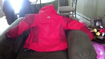 $75 North Face Red Summit Series Winter Women's Coat