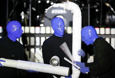 Blue Man Group Tickets at Baton Rouge River Center Theatre on 01142016