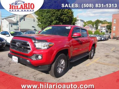 2017 Toyota Tacoma SR5 Double Cab 5'' Bed V6 4x4 (Barcelona Red Metallic)