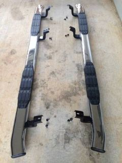 Ionic Running Boards for a 2014 Toyota Tundra