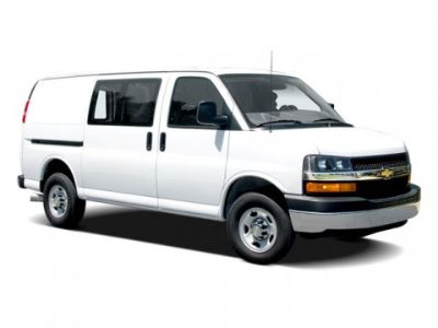 2009 Chevrolet Chevy Van G30 (Summit White)