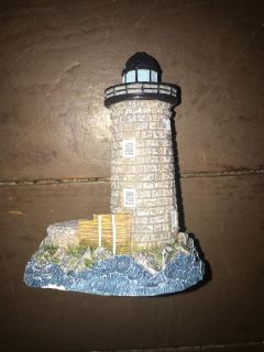 This Little Light If Mine Collectible Whale Back New Hampshire Lighthouse 3 x3 $5 Must Pickup In McDonough