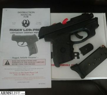 For Sale/Trade: Ruger lc9s pro/ crimson trace