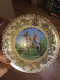 Vintage Canada Plate