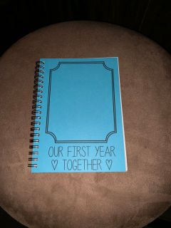 Our First Year Together Journal