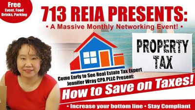 A Massive Monthly Networking Event (Tax Help, Deal Share, and Network) by 7...