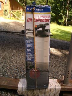 6.5L Oil Extractor for Boat or vehicle