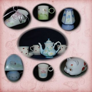 Gifts for Babies and Children -  Hand Painted China