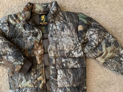 Browning down puffer coat