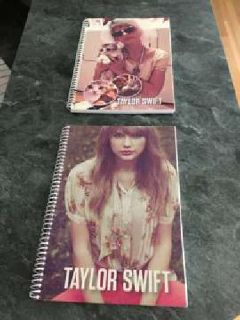 Taylor Swift Spiral Lined Notebooks