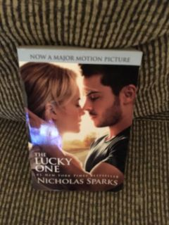 The Lucky One Book - New York Times Best Seller List -Swap Only